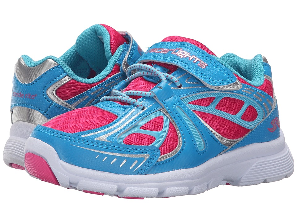 Stride Rite - Racer Lights Acceleration (Toddler/Little Kid) (Blue/Pink) Girls Shoes