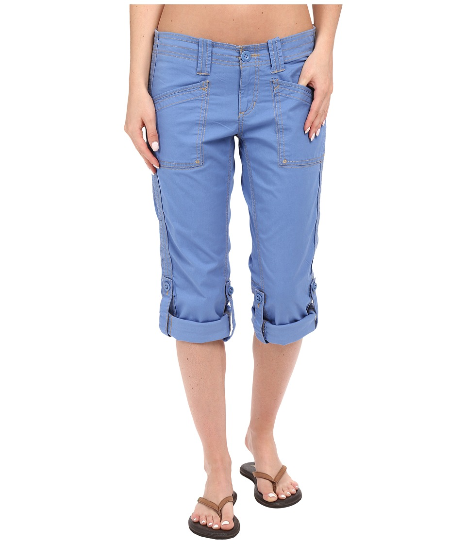 Aventura Clothing - Arden Standard Rise Capri (Blue Yonder) Women's Capri