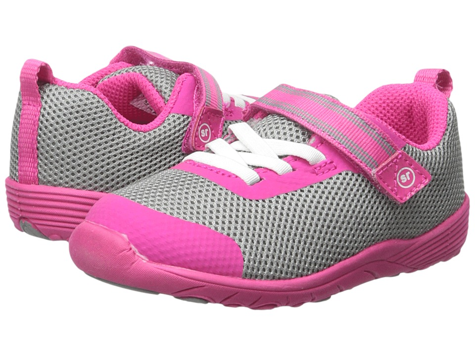 Stride Rite - SRT Dree (Toddler) (Grey/Pink) Girls Shoes
