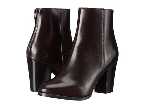 The Kooples - Leather Ankle Boots (Red) Women's Boots
