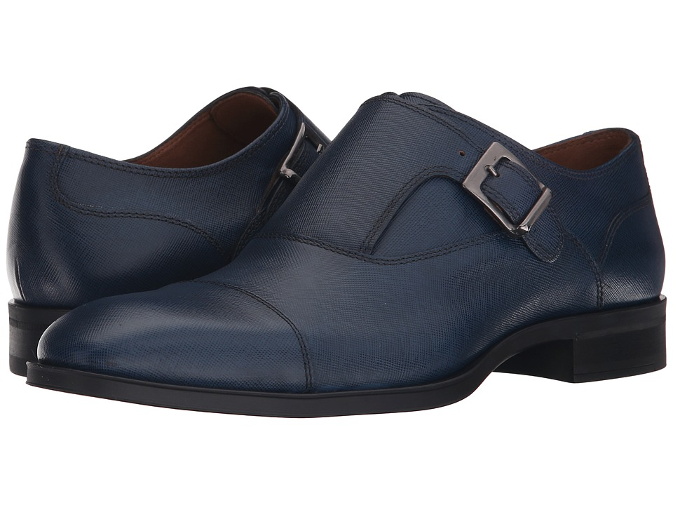 Donald J Pliner - Sergio (Navy) Men's Shoes