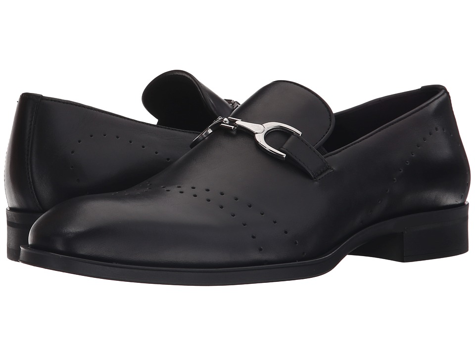 Donald J Pliner - Silvanno (Black) Men's Shoes