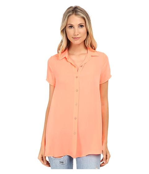 Gabriella Rocha - Elana Short Sleeve Shirt (Coral) Women