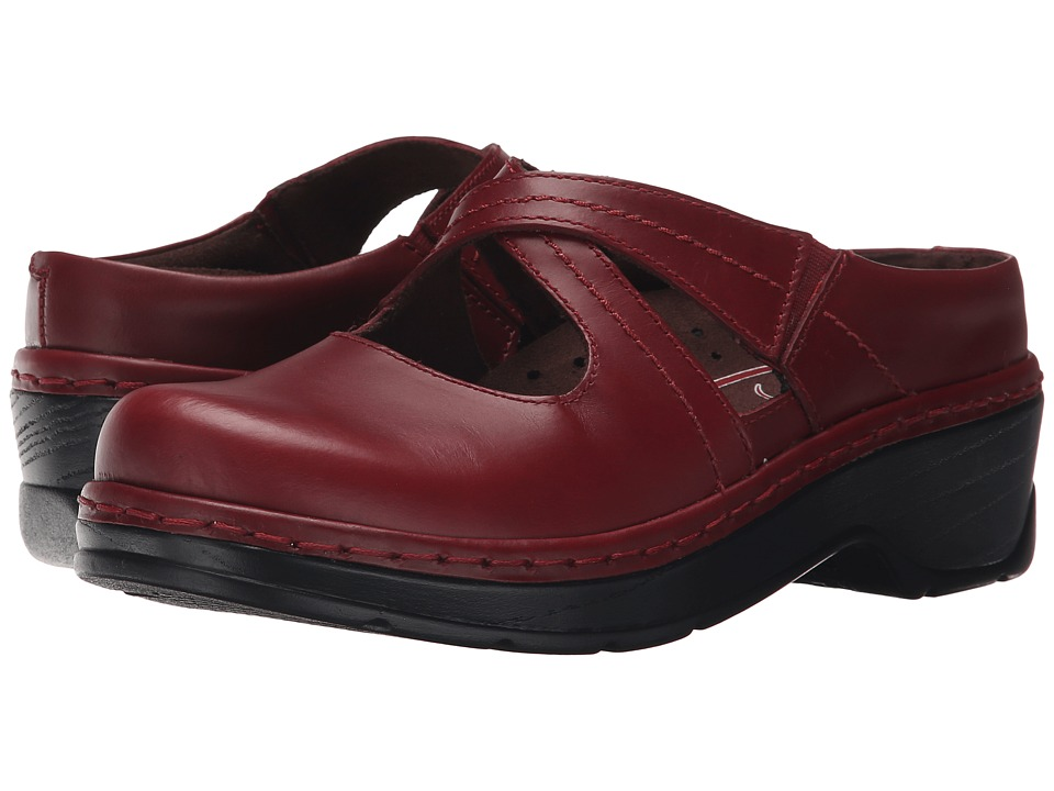 Klogs Footwear - Cara (Cranberry) Women's Clog Shoes