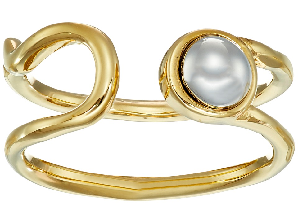 Marc by Marc Jacobs - Lost and Found Safety Pin Ring (Oro Multi) Ring