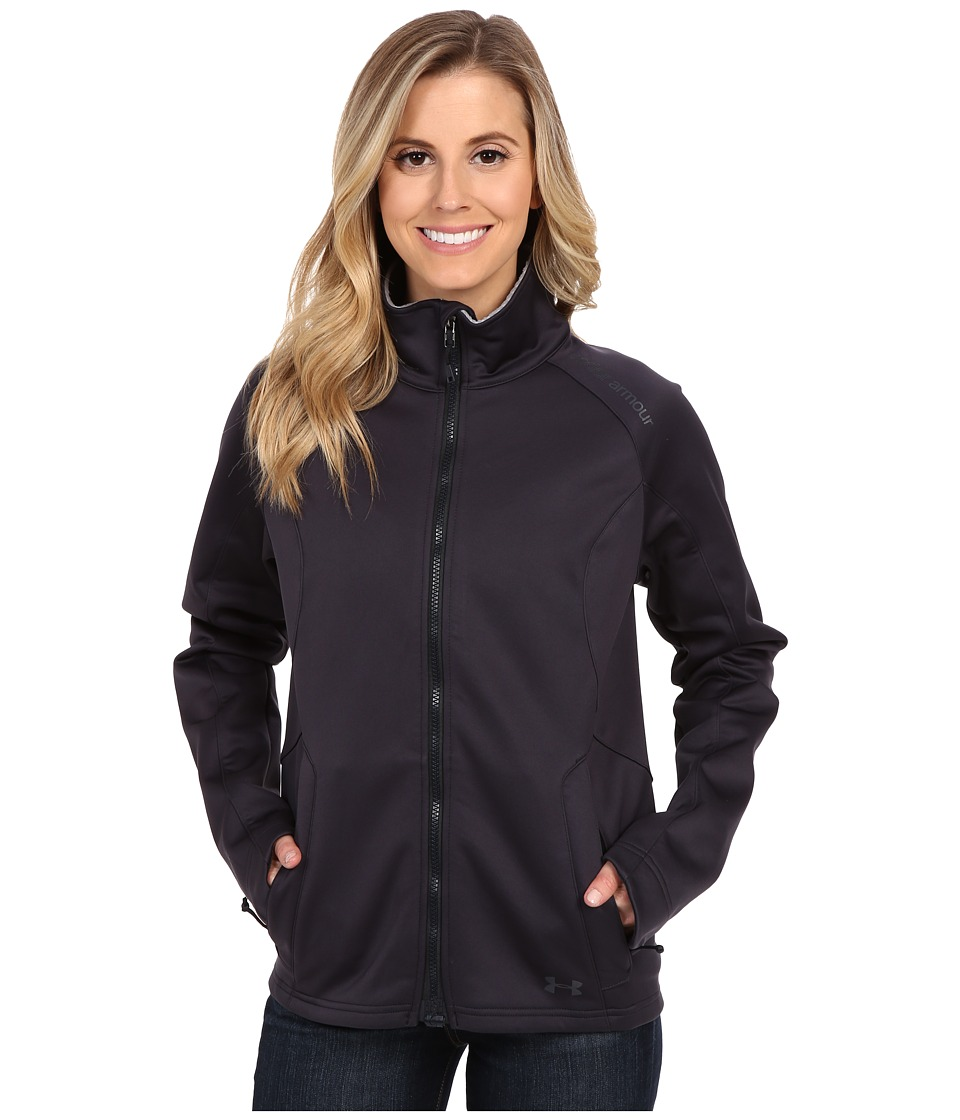 Under Armour - UA Tac Softshell (Dark Navy Blue) Women's Clothing
