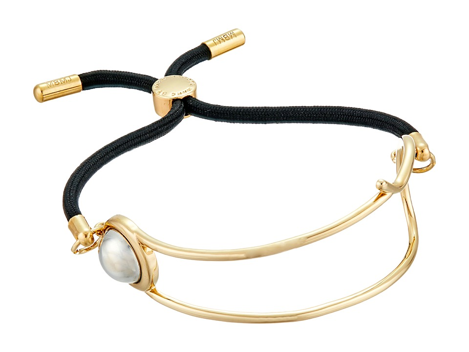 Marc by Marc Jacobs - Key Items Safety Pin Friendship Bracelet (Oro Multi) Bracelet