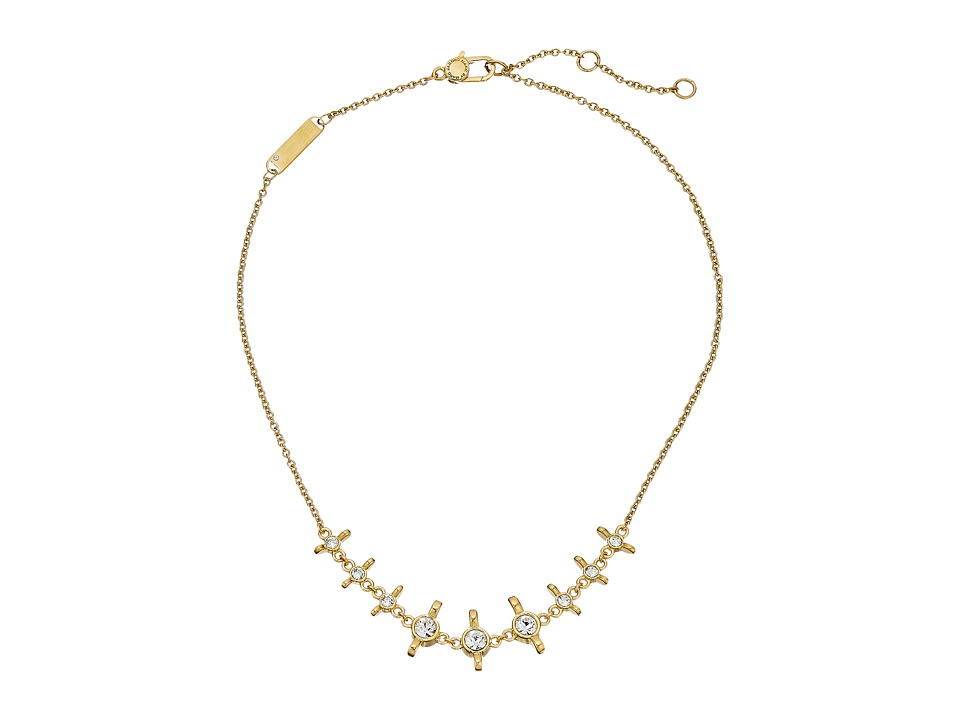 Marc by Marc Jacobs - Screw It Wingnut Chain Necklace (Oro) Necklace