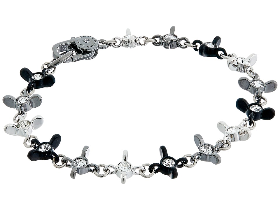 Marc by Marc Jacobs - Screw It Wingnut Delicate Bracelet (Black Multi) Bracelet