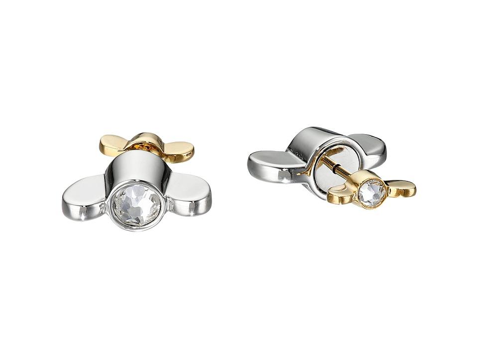 Marc by Marc Jacobs - Screw It Reversible Wingnut Earrings (Argento Multi) Earring