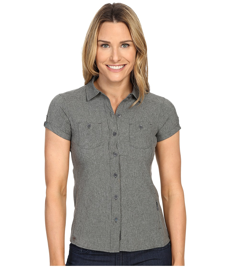 Outdoor Research - Reflection Short Sleeve Shirt (Charcoal) Women's Clothing