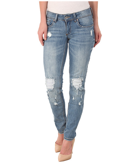 dollhouse - Ipanema Skinny Jeans in Light Blue Wash (Light Blue Wash) Women's Jeans