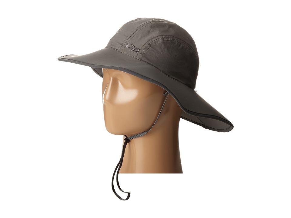 Outdoor Research - Rambler Sun Sombrero (Little Kids/Big Kids) (Pewter) Traditional Hats