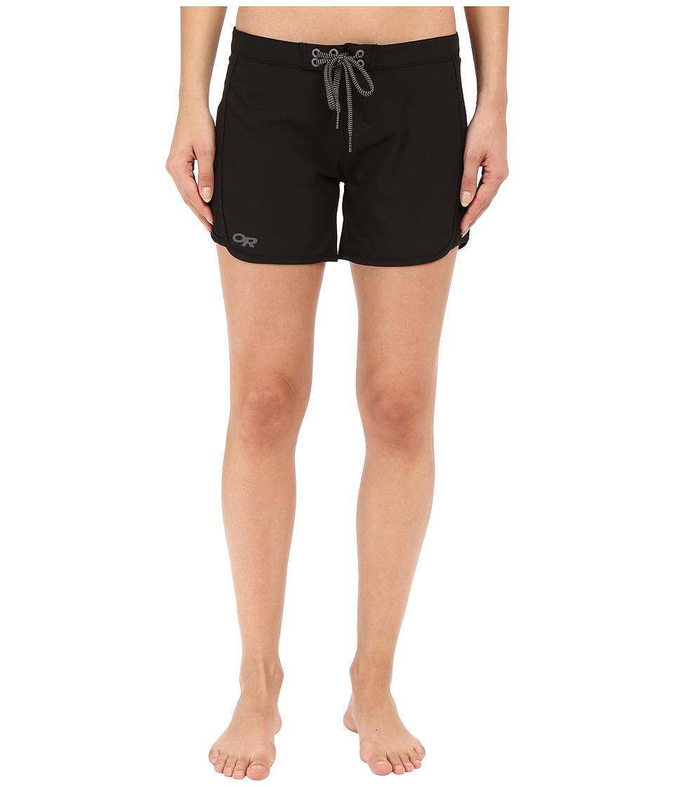 Outdoor Research - Buena Boardshorts (Black) Women's Swimwear