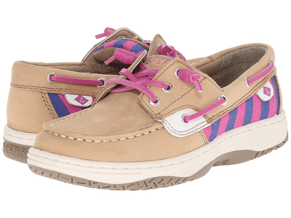 Sperry Top-Sider Kids - Ivyfish (Toddler/Little Kid) (Linen/Stripe) Girls Shoes