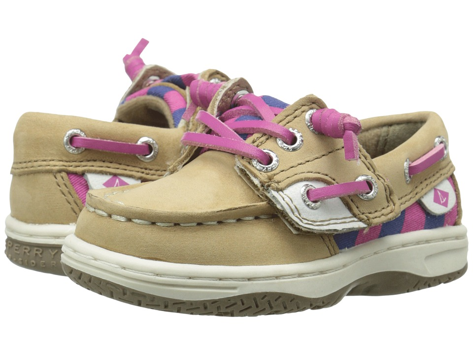 Sperry Top-Sider Kids - Ivyfish Jr (Toddler/Little Kid) (Linen/Stripe) Girl