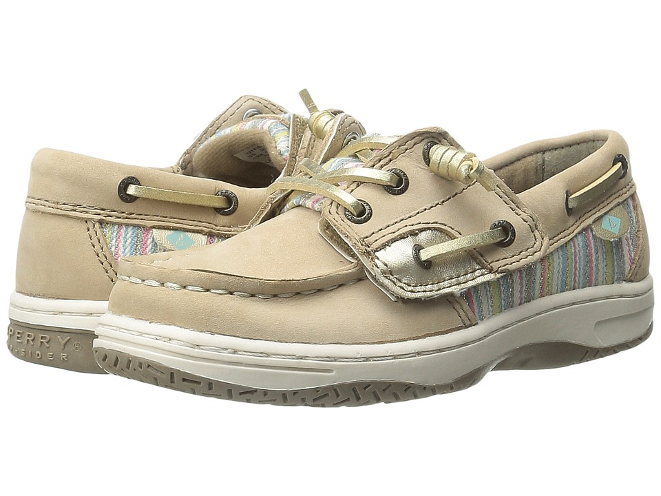 Sperry Top-Sider Kids - Ivyfish Jr (Toddler/Little Kid) (Silver Cloud/Serape) Girl
