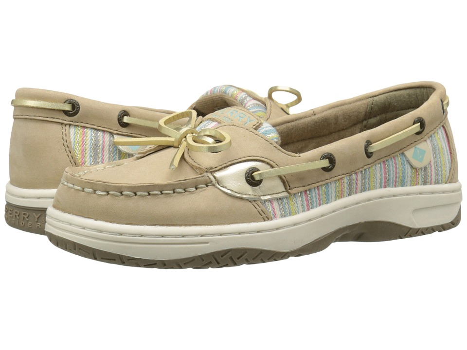 Sperry Top-Sider Kids - Angelfish (Little Kid/Big Kid) (Silver Cloud/Serape) Girls Shoes
