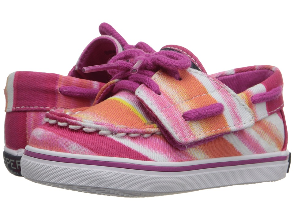 Sperry Top-Sider Kids - Bahama Crib Jr. (Infant/Toddler) (Pink Watercolor) Girls Shoes