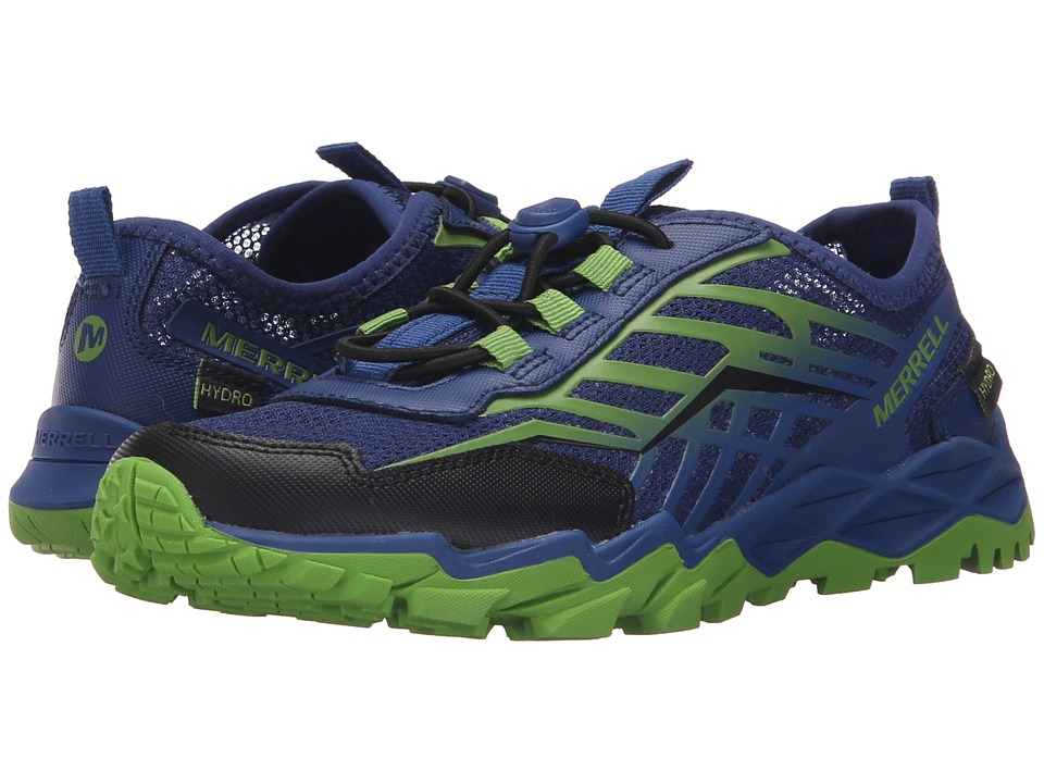 Merrell Kids - Hydro Run (Little Kid) (Blue/Green/Black) Boys Shoes