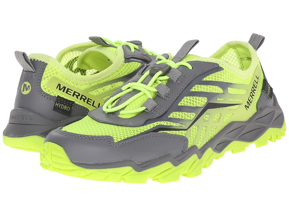 Merrell Kids - Hydro Run (Little Kid) (Citron/Grey) Boys Shoes