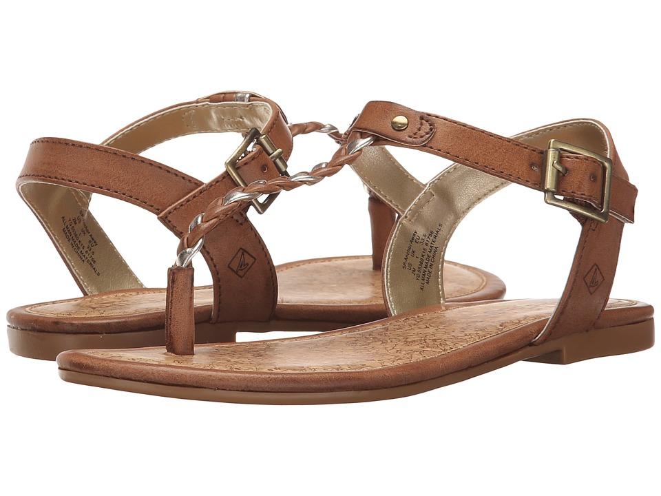 Sperry Kids - Anchor Away (Little Kid/Big Kid) (Mahogany) Girls Shoes