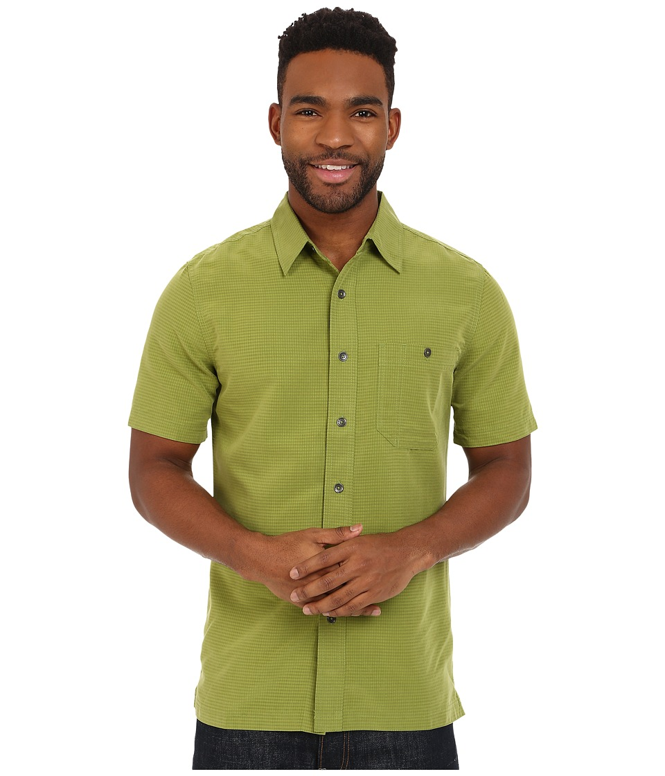 Royal Robbins - Mojave Desert Pucker S/S (Cactus) Men's Short Sleeve Button Up