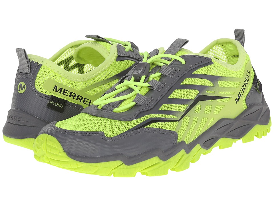 Merrell Kids - Hydro Run (Big Kid) (Citron/Grey) Boys Shoes