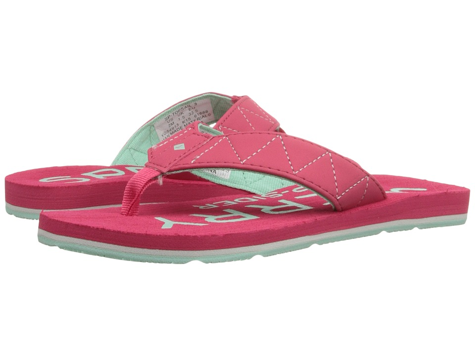 Sperry Top-Sider Kids - Topsail 3 (Little Kid/Big Kid) (Pink/Mint) Girls Shoes
