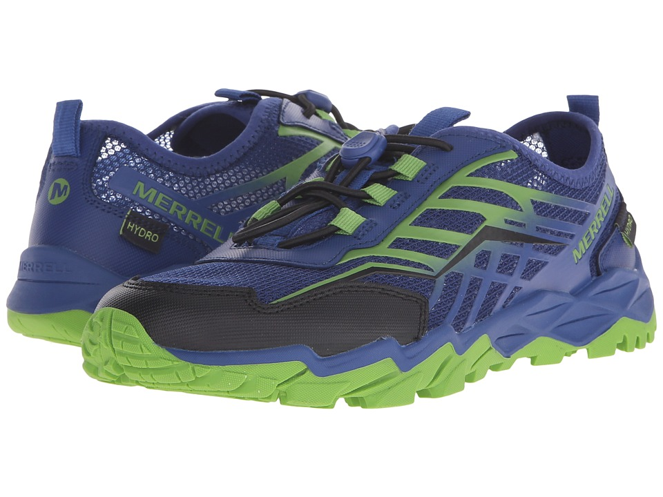 Merrell Kids - Hydro Run (Big Kid) (Blue/Green/Black) Boys Shoes