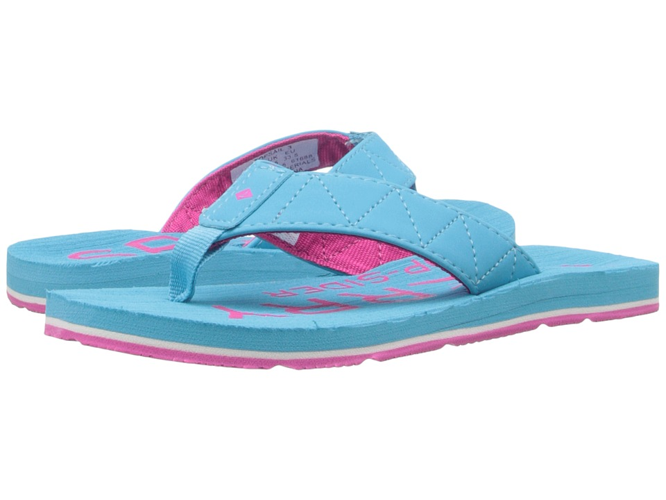 Sperry Kids - Topsail 3 (Little Kid/Big Kid) (Turquoise) Girls Shoes
