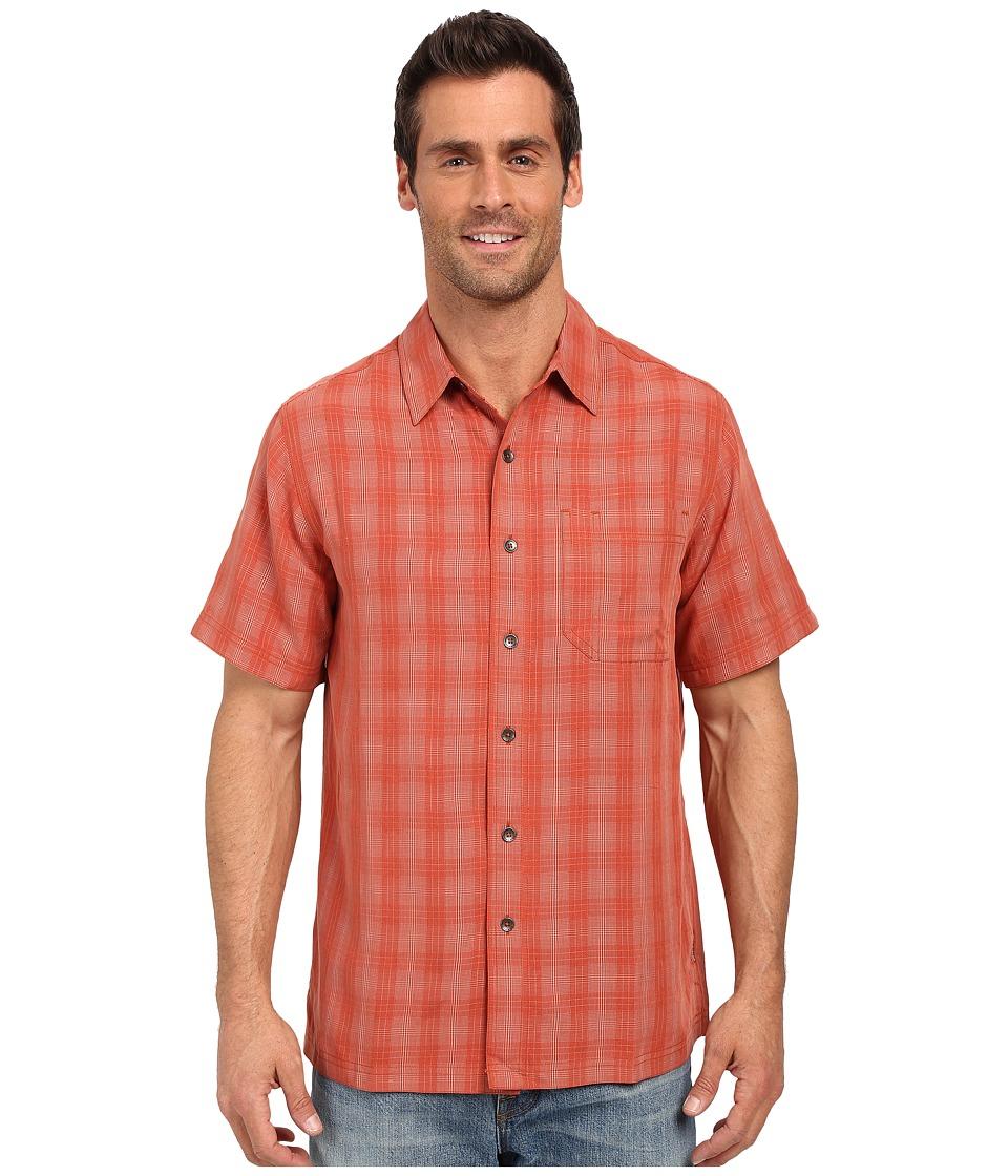 Royal Robbins - San Juan Plaid Short Sleeve Shirt (Morocco) Men's Short Sleeve Button Up