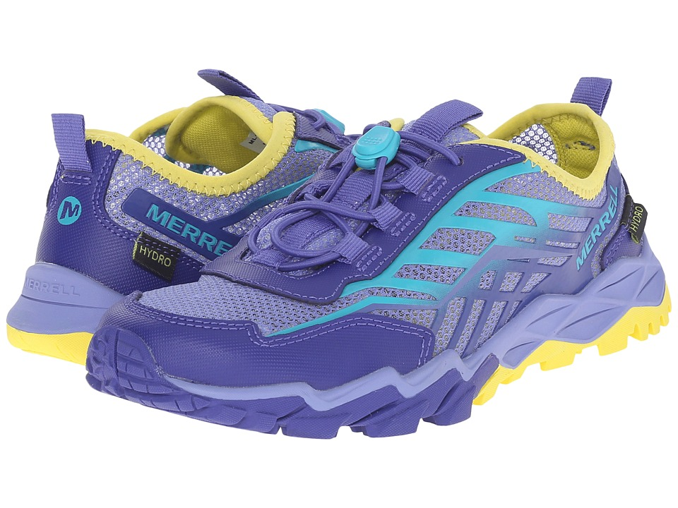 Merrell Kids - Hydro Run (Little Kid) (Blue/Turquoise/Yellow) Girls Shoes