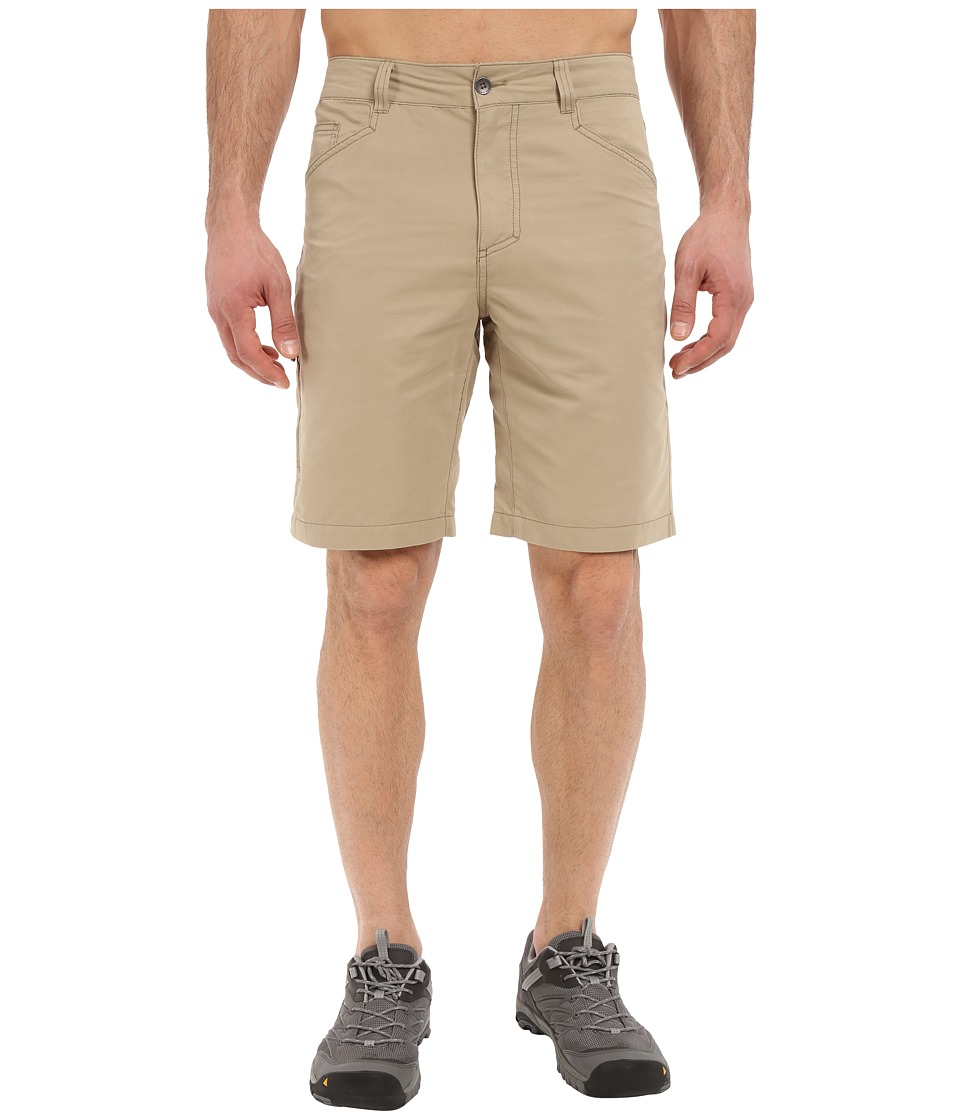 Royal Robbins Convoy Utility Shorts (Desert) Men