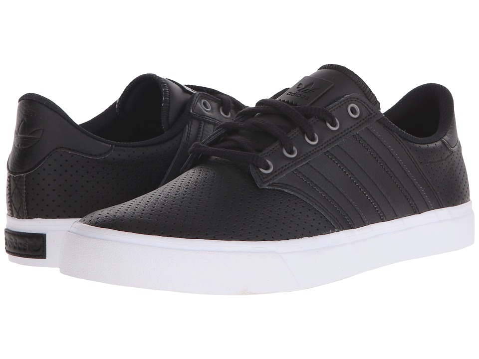 adidas Skateboarding - Seeley Premiere Classified (Black/Black/White) Men's Skate Shoes