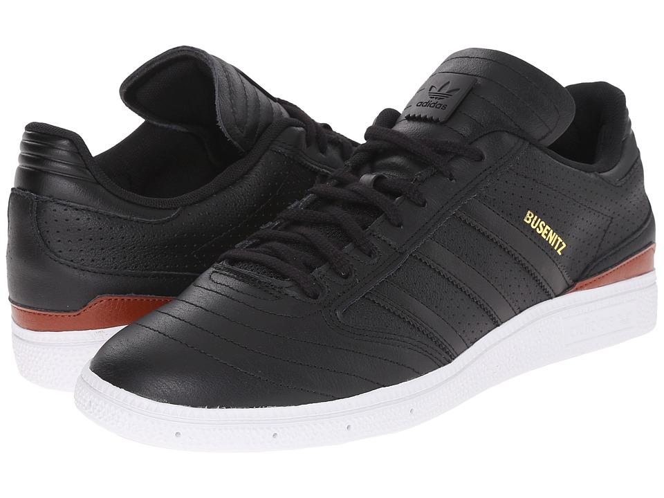 adidas Skateboarding - Busenitz Classified (Black/Black/White) Men's Skate Shoes