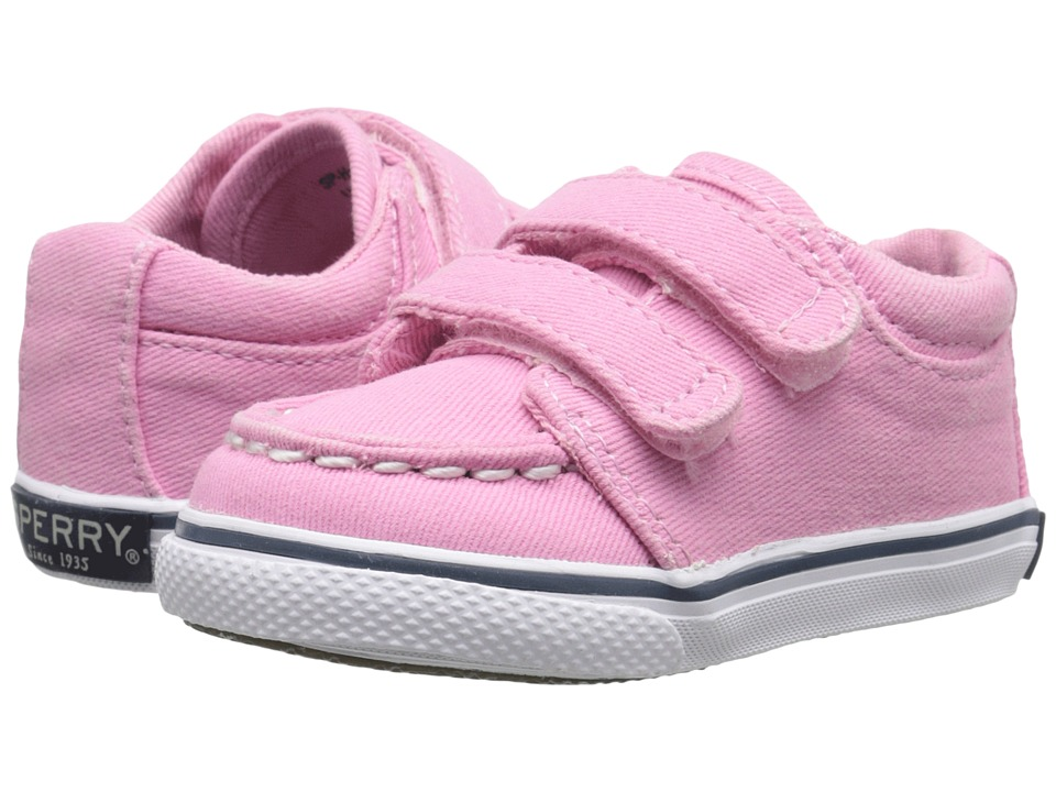 Sperry Top-Sider Kids - Hallie Crib HL (Infant/Toddler) (Pink Saltwash) Girls Shoes