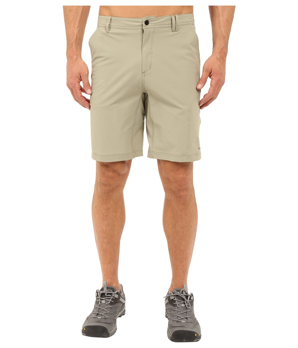 adidas Outdoor - All Outdoor Light Hike Flex Shorts (Tech Beige/Dark Grey) Men's Shorts