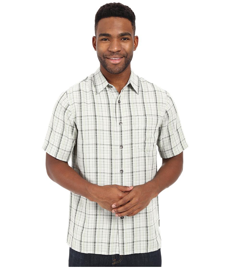 Royal Robbins - Pilat Plaid Short Sleeve Shirt (Shamrock) Men's Short Sleeve Button Up