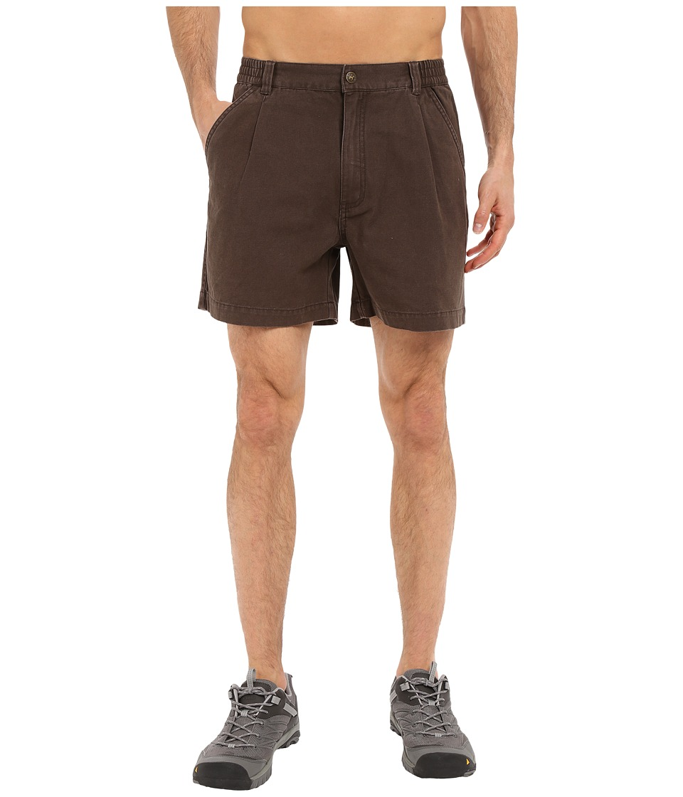 Royal Robbins - Classic Billy Goat Cotton Canvas Short (Turkish Coffee) Men's Shorts