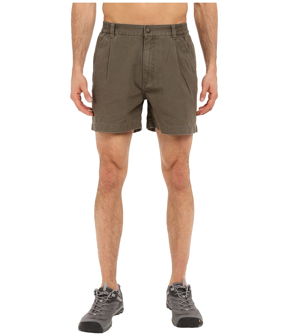 Royal Robbins - Classic Billy Goat Cotton Canvas Short (Light Olive) Men's Shorts