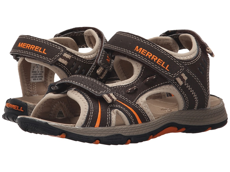 Merrell Kids - Panther (Toddler/Little Kid) (Brown/Black) Boys Shoes