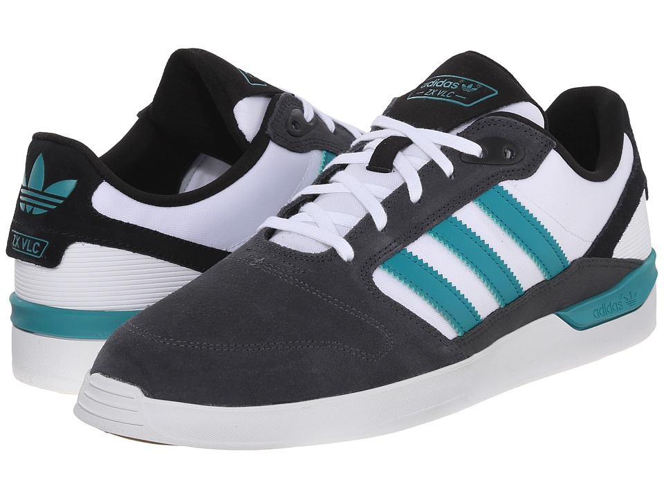 adidas Skateboarding - ZX Vulc (DGH Solid Grey/EQT Green/White) Men's Skate Shoes
