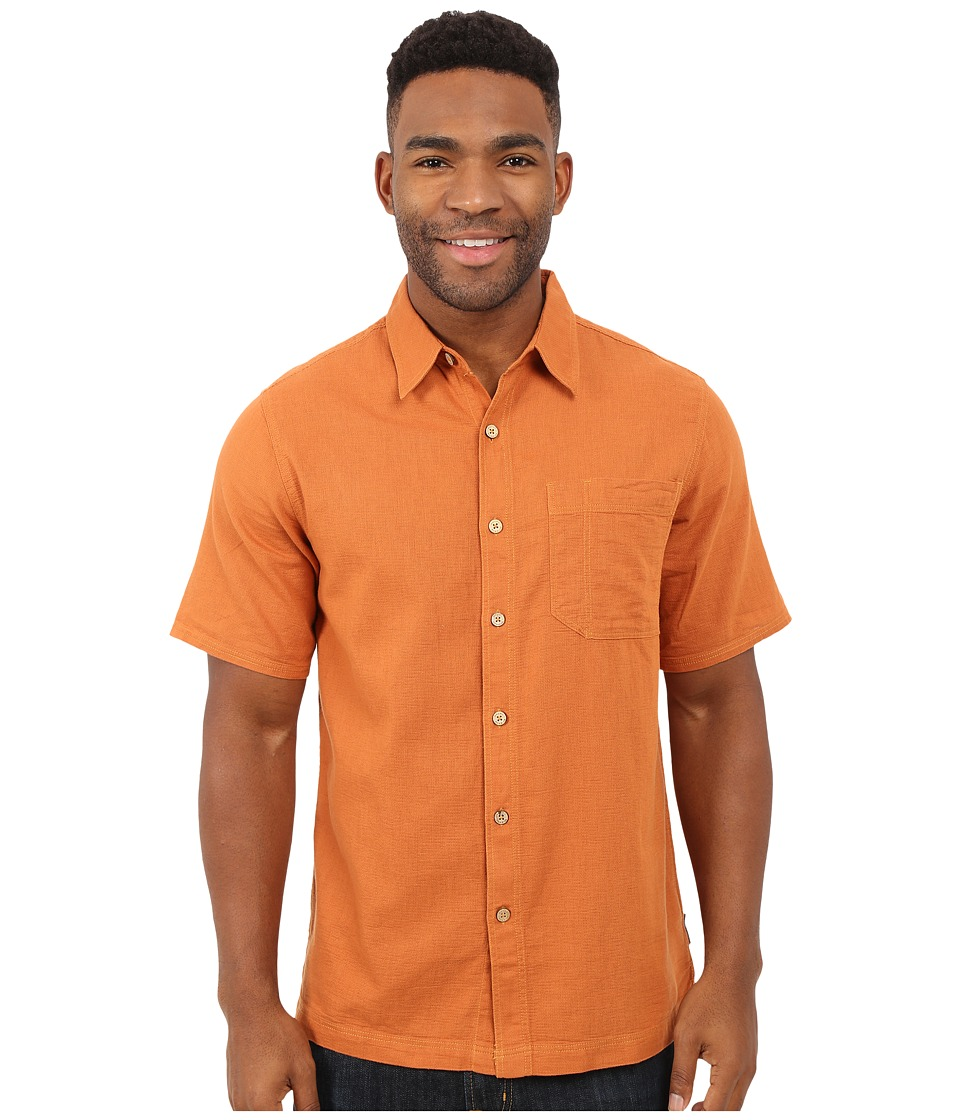 Royal Robbins - Cool Mesh S/S (Acorn) Men's Short Sleeve Button Up