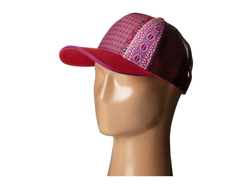 Prana - La Viva Trucker Hat (Azalea Eclipse) Caps