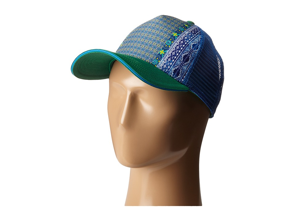 Prana - La Viva Trucker Hat (Dusty Pine Eclipse) Caps