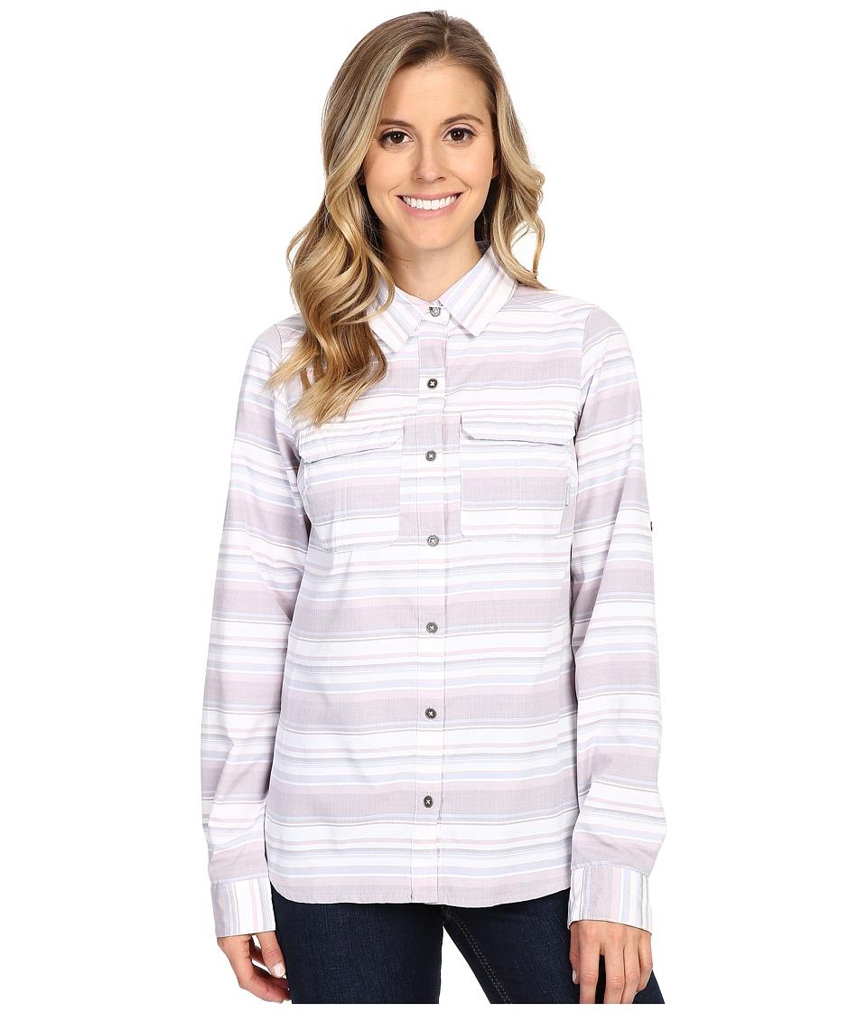 Columbia - Pilsner Peak Stripe Long Sleeve Shirt (Enchanted Stripe) Women's Long Sleeve Button Up