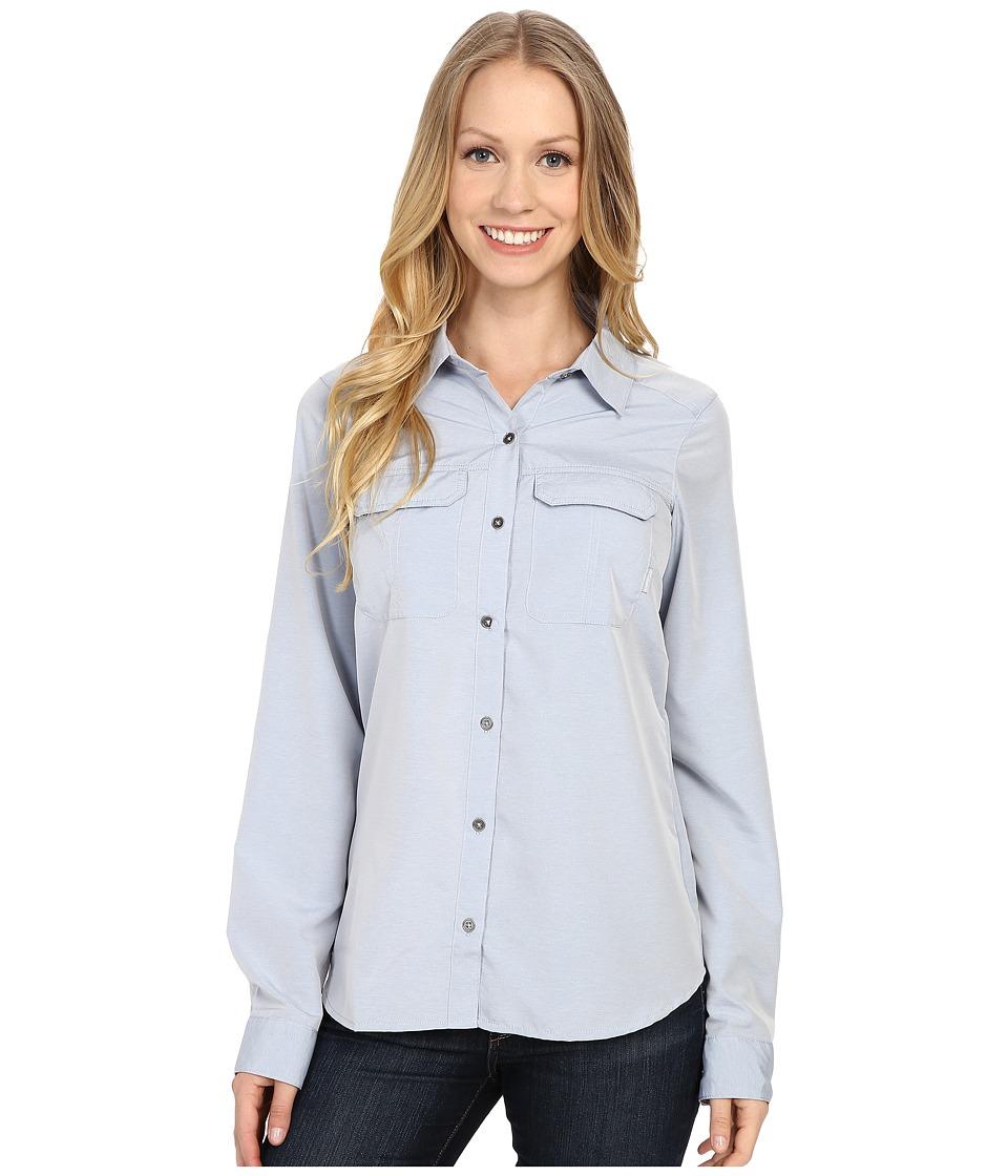 Columbia - Pilsner Peak Long Sleeve Shirt (Bluebell Heather) Women's Long Sleeve Button Up