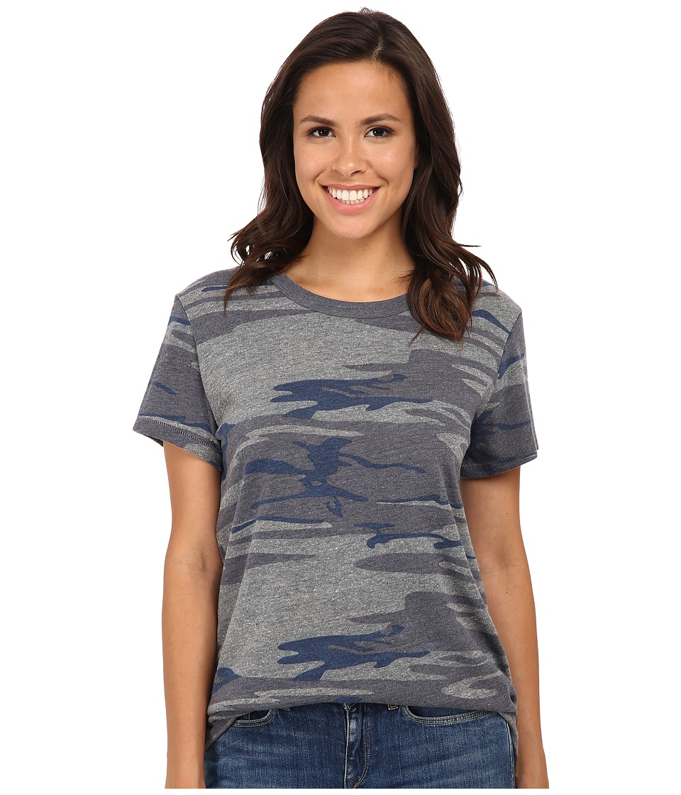 Alternative - Ideal Tee (Navy Camo) Women's T Shirt