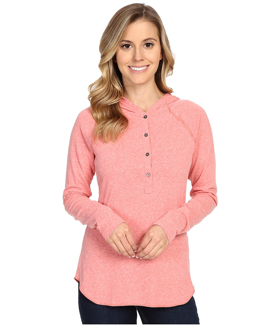 Columbia - Trail Shaker Hoodie (Coral Bloom Heather) Women's Sweatshirt